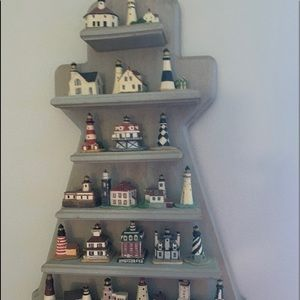Lenox handcrafted lighthouse display!